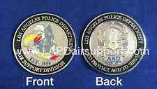 Los Angeles Police Department Air Support Division Challenge Coin - Buzzard Logo