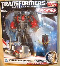 Transformers DOTM 2011 FIREBURST OPTIMUS PRIME FIGURE Voyager Class Autobot
