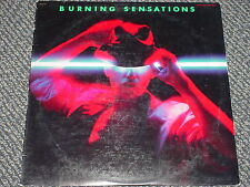 BURNING SENSATIONS - OOP 1983 DLP 15009 4 SONG EP W/ BELLYOF THE WHALE VG+ NM