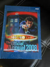 DR WHO 2008 OFFICIAL ANNUAL