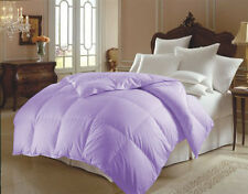 GOOSE DOWN ALTERNATIVE DOUBLE FILLED LUXURY COMFORTER KING QUEEN FULL Size