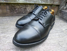 ALFRED SARGENT DERBY SHOES- BLACK –  UK 11.5  – EXCELLENT– GOOD FOR CHURCH