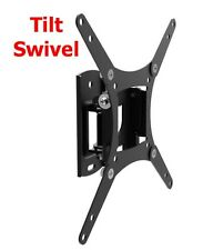 Tilt & Swivel TV Wall Mount Bracket 19 24 27 32 39 40 Inch LED LCD Flat Screen
