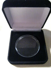 BLACK VELVET Presentation Box/ Gift Box for CHALLENGE COIN
