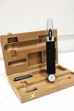 Jones Medical Spirometer Calibrator Calibration 600 PSI 1946 with Wooden Box