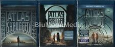 Atlas Shrugged Trilogy Parts 1 2 3 BLU-RAY Lot II III Ayn Rand Complete Set NEW