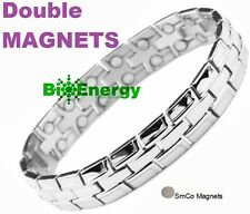 Magnet Magnetic TITANIUM Steel Energy  Power Bracelet Health Bio Men's  Male
