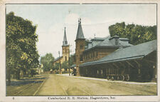 Hagerstown MD * Cumberland Valley RR Station ca. 1908