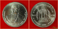 2010 THAILAND 20 BAHT Y#495 RAMA III FATHER OF THAI TRADE NICKEL COIN UNC (#49)