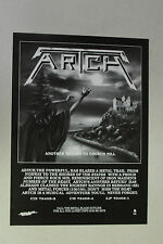 "ARTCH ""Another Return to Church Hill"" Full Page AD magazine clipping heavy metal"