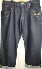 Authentic Coogi Pants Dark Wash Gold Buttons Trap and Skeet Competition W42 L35