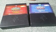 Blizzard- World of Warcraft- Rare- Limited Edition- Horde/Alliance Art Card Sets