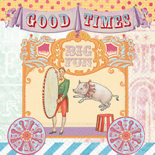 Circus Carnival PAPER LUNCH NAPKINS - Birthday Napkins - Paper Napkins