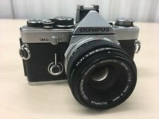 Olympus OM-2 35mm SLR Film Camera with 50 mm lens