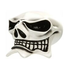 BLACK WHITEBVAN CHASE HURST STICK SHIFT B&M TRANSMISSION MCPHAIL SKULL GEAR KNOB