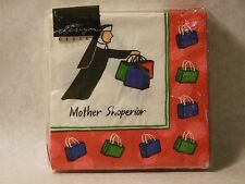 Beverage Napkins Mother Shoperior Pack of 20 Made in Germany Novelty NEW