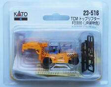 Kato 23-516 Top Loading Container Lift TCM FD300 JR Freight Color (N scale)