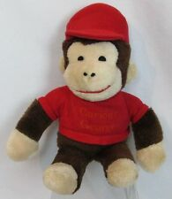 "VINTAGE 1970's CURIOUS GEORGE KNICKERBOCKER PLUSH 14"" MONKEY STUFFED TOY DOLL"