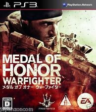 Used PS3 Medal of Honor: Warfighter SONY PLAYSTATION 3 JAPAN JAPANESE IMPORT