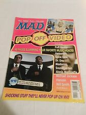 Mad Magazine #May 1998 Pop Off Video Spice Girls Men In Black