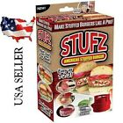 Stufz Stuffed Burger Press Hamburger Patty Maker  BBQ Grill -- 20% Off 2nd Item