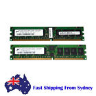 SUN Micron 2GB (2 X 1GB) PC3200R DDR2-400Mhz 240 Pin ECC Server Ram Memory