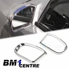 LUXURY CHROME SIDE MIRROR RING TRIM SET FOR MERCEDES BENZ C E CLASS W203 W211