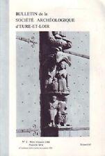 BULLETIN DE AL SOCIETE ARCHEOLOGIQUE D EURE ET LOIR  4e TRIMLESTRE  1984 N° 2