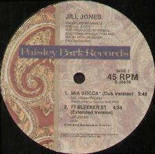 JILL JONES - Mia Bocca - Paisley Park - 0-20679 - Usa