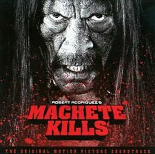 Robert Rodriguez's MACHETE KILLS new unopened CD motion picture soundtrack