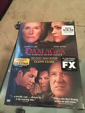 Damages: The Complete Second Season (DVD, 2010, 3-Disc Set) NEW