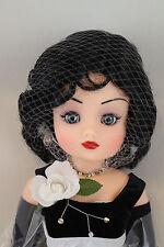 """21"""" Madame Alexander BLACK & WHITE BALL Cissy Doll LE 114/500 NRFB"""