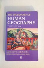 The Dictionary Of Human Geography Third Edition Johnston Gregory And Smith