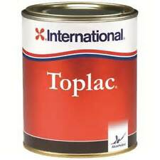 International Toplac narrow boat and yacht exterior paint - MAURITIUS BLUE