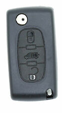 FIAT Scudo 3 buttons FOB REMOTE KEY Case blade type HU83
