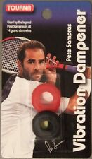 NEW Tourna Pete Sampras Vibration Dampener Tennis Black & Red Dampner