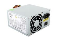 Grey 500W 12CM Silent Fan PC Power Supply ATX Computer PSU Sata