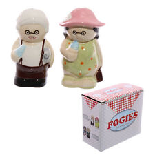 Old Fogey Beach Couple salt & pepper set !FREE UK P&P!