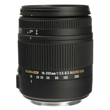 Sigma 18-250mm F3.5-6.3 DC Macro OS HSM for Canon EF Mount