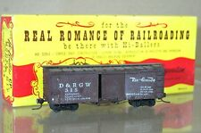 BINKLEY KIT BUILT HOn3 NARROW GAUGE DENVER RIO GRANDE D&RGW BOX CAR WAGON 315 nd