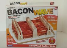 Emson Bacon Wave, Microwave Bacon Cooker, New, Free Shipping