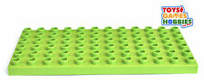 *NEW* LEGO DUPLO 6x12 Bright Yellowish Green Base Plate - Brick Grass Farm House