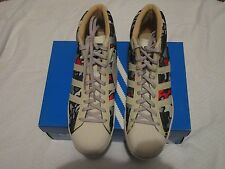 Adidas Pro Model Vin Lux Originals 677975001 Sz 11.5 Sneakers Bone/Chrome/Mtgold