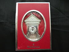Waterford Silver Plated - 2012 Bless This Home  Christmas Ornament - New & Boxed
