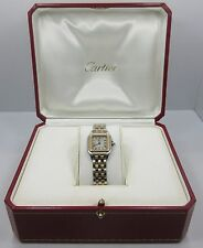 Cartier Panthere 18k yellow gold Women's Two-tone watch 1120 co1018