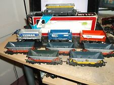 9 HORNBY AND LIMA HOPPER WAGONS