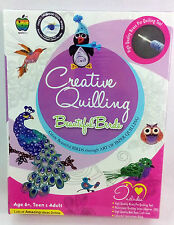 Creative Paper Quilling Beautiful BirdsTheme 3D Strips Art N Fun Best Gift