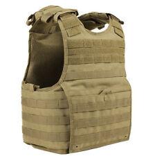 Condor MOLLE Nylon EXO Armor Plate Carrier Vest xpc xpcl - COYOTE TAN -  L/XL