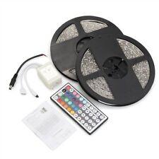 Wasserdicht 2x5M 10M 3528 SMD 600 LED RGB Licht Lampe flexible Streifen Ban DE