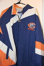 Vintage Chicago Bears Pro Line Starter Jacket NFL Wind Breaker Mens X-Large